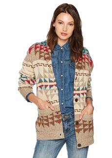 Pendleton Women's Iconic Shawl Collar Cardigan Sweater  XS