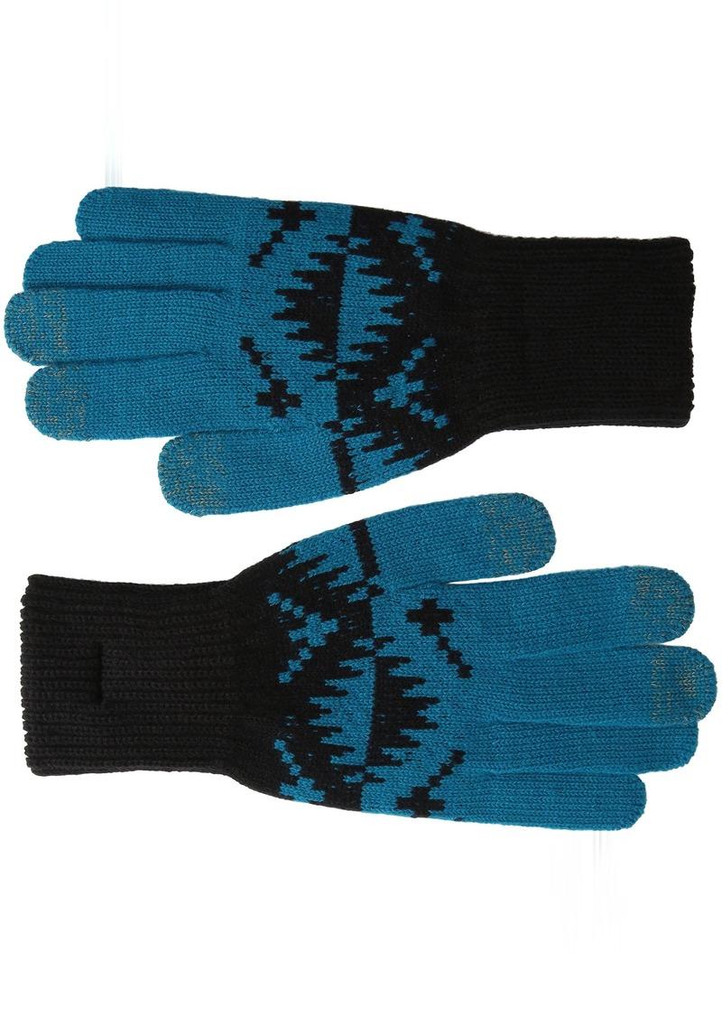 Pendleton Women's Jacquard Texting Gloves  Small/Medium