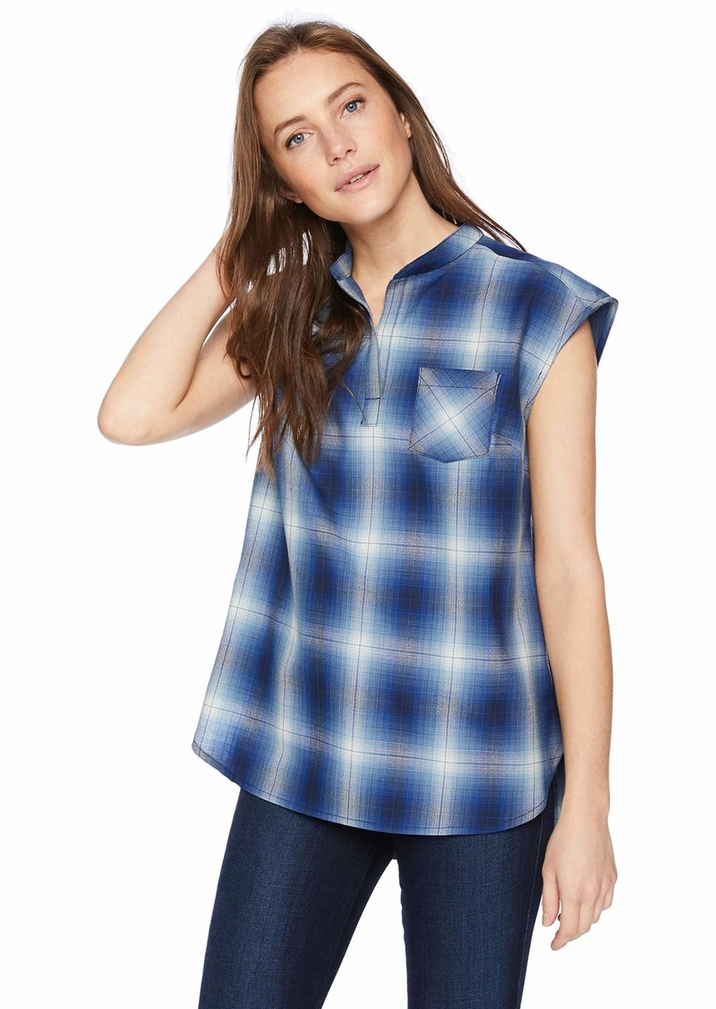 Pendleton Women's Jane Wool Plaid Popover Shirt  M