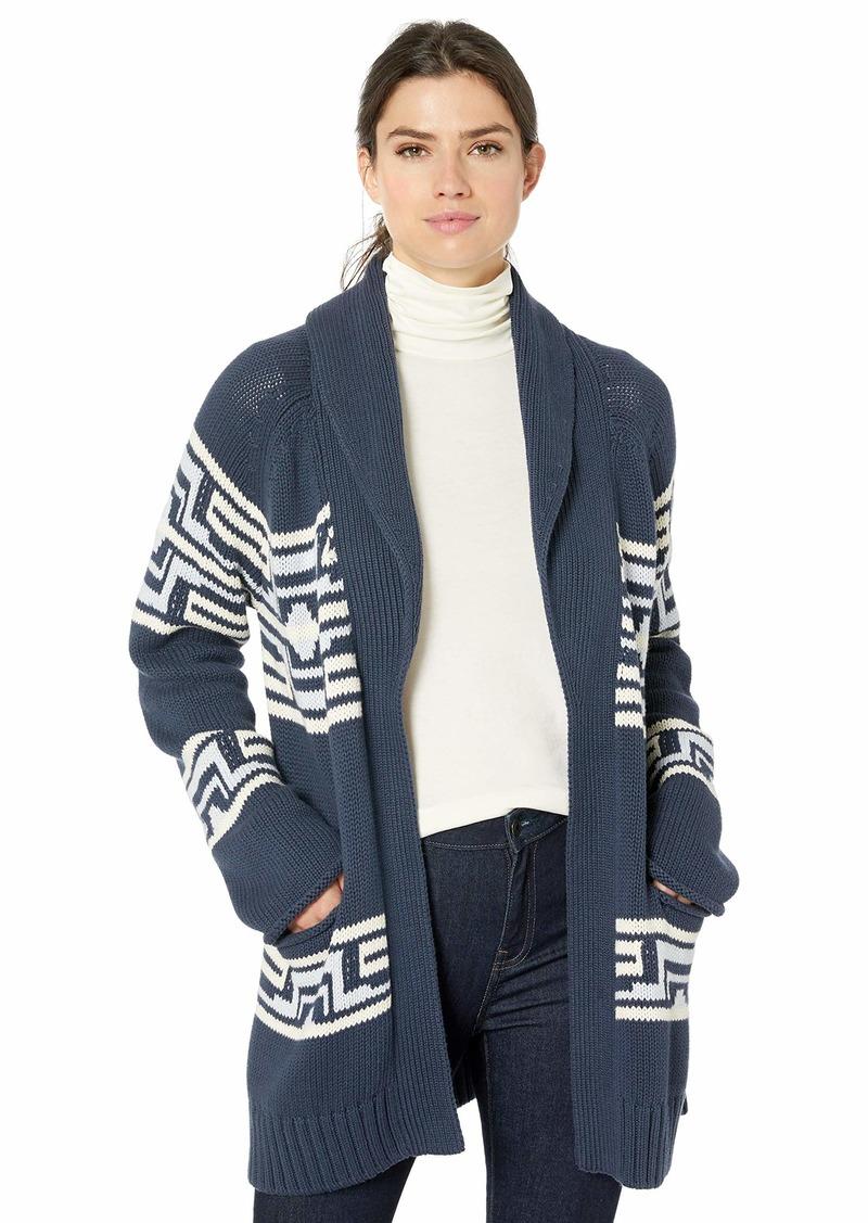 Pendleton Women's Las Cruces Cotton Cardigan Sweater  LG