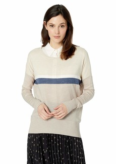 Pendleton Women's Long Sleeve City Block Merino Pullover Sweater  XS