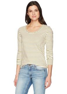 Pendleton Women's Long Sleeve Pima Cotton Stripe Tee  LG