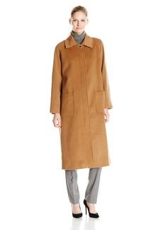 Pendleton Women's Long Wool/Cashmere Blend Reefer Coat