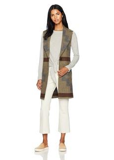Pendleton Women's Longline Wool Jacquard Vest  S