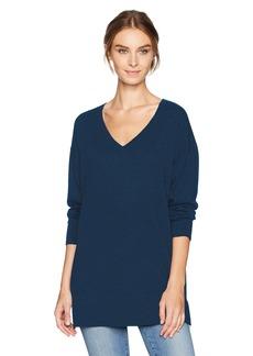 Pendleton Women's Merino Wool V-Neck Pullover Sweater  L