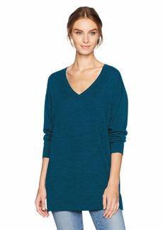 Pendleton Women's Merino Wool V-Neck Pullover Sweater  S