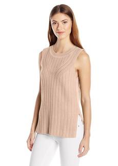 Pendleton Women's Mixed Rib Pullover Sweater  L