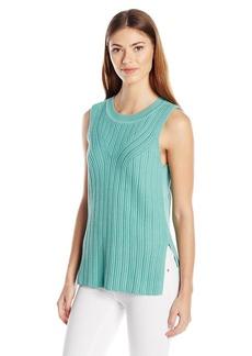 Pendleton Women's Mixed Rib Pullover Sweater  M