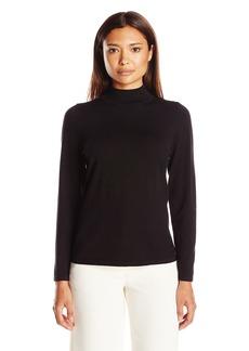 Pendleton Women's Size Mockneck Pullover Sweater  Petite Large