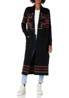 Pendleton Women's Open Front Duster Sweater  MD