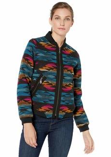 Pendleton Women's Pacific Wool Bomber Jacket  LG