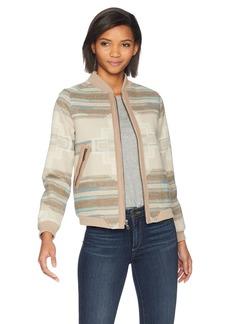 Pendleton Women's Pacific Wool Bomber Jacket  S