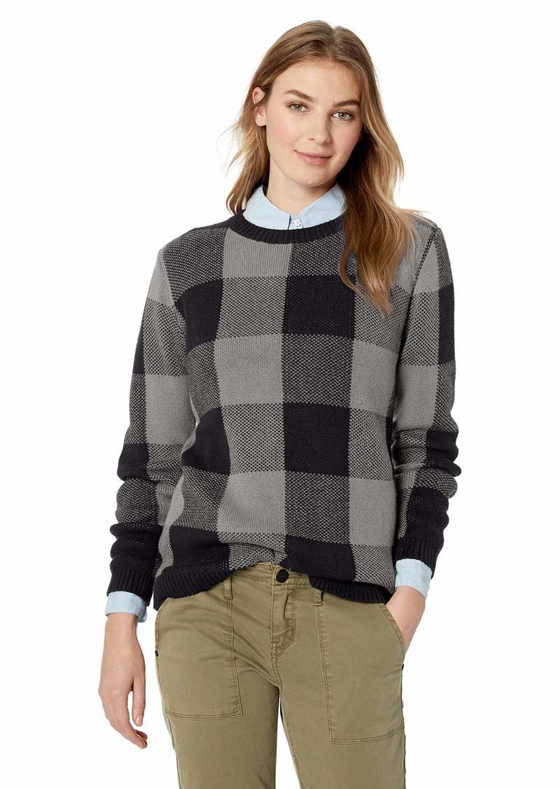 Pendleton Women's Plaid Cotton Pullover Sweater  SM