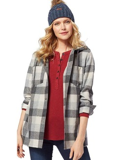 Pendleton Women's Plaid Wool Hoodie