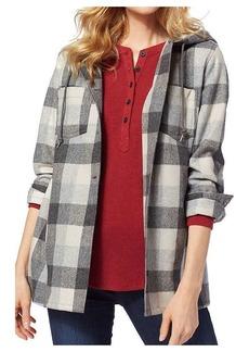 Pendleton Women's Plaid Wool Hoodie