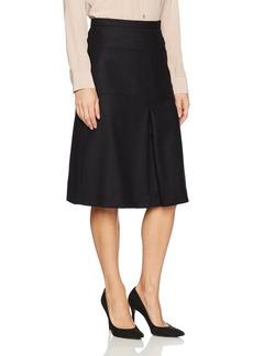 Pendleton Women's Pleat Front Wool Flannel Skirt