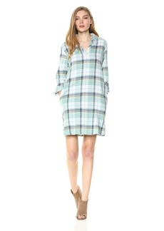 Pendleton Women's Popover Cotton Plaid Dress  LG