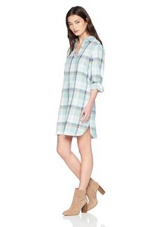 Pendleton Women's Popover Cotton Plaid Dress  Petite