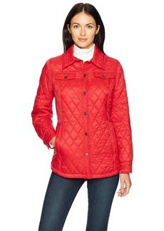 Pendleton Women's Quilted Shirt Jacket red XXS