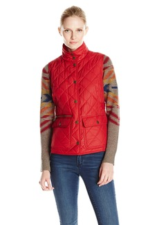 Pendleton Women's Quilted Snap Vest