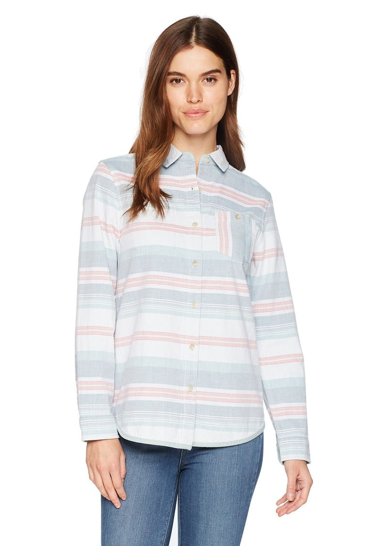 Pendleton Women's Reversible Serape Stripe Cotton Shirt  XXS