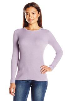 Pendleton Women's Rib Jewel Neck Pullover Sweater  Petite Small