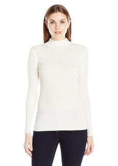 Pendleton Women's Rib Mockneck Pullover Sweater  L