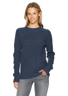 Pendleton Women's Ribbed Lambswool Pullover Sweater  L