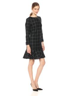 Pendleton Women's Ruffle Hem Wool Dress  0