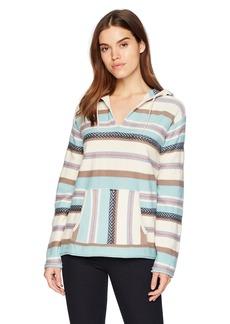 Pendleton Women's Serape Stripe Cotton Hoodie  XS