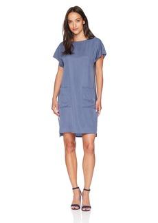 Pendleton Women's Simple Short Sleeve Shift Dress  Petite
