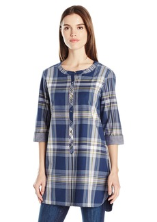 Pendleton Women's  Size Plaid Tunic  P