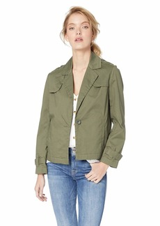 Pendleton Women's Sloane Cotton Twill Jacket  Petite Large