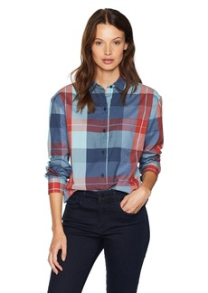 Pendleton Women's Stevie Back Pleat Shirt  XL