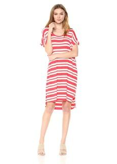 Pendleton Women's Stripe T-Shirt Dress  LG