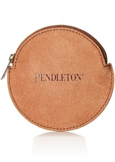 Pendleton Women's Suede Coin Purse Accessory -brown/aqua