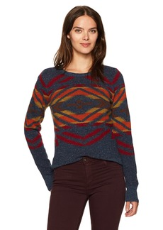 Pendleton Women's Sunset Cross Lambswool Pullover Sweater  M