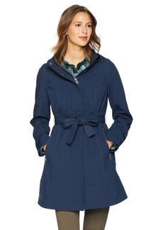 Pendleton Women's TECHRAIN A-LINE Belted Coat  XS