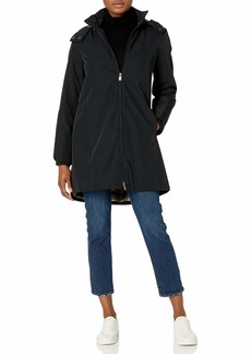 Pendleton Women's Techrain Hooded Long Coat  XL