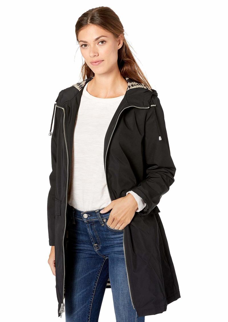 Pendleton Pendleton Women S Techrain Hooded Walker Coat Md Outerwear [ 1127 x 800 Pixel ]