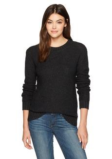 Pendleton Women's Textured Crew Neck Pullover Sweater  LG