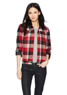 Pendleton Women's Timber Wool Jacket red/Charcoal Buffalo Plaid MD