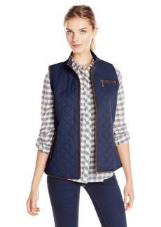 Pendleton Women's Trimmed Quilted Vest