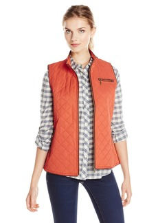Pendleton Women's Trimmed Quilted Vest  X-Small