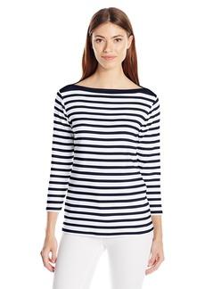 Pendleton Women's Trimmed Stripe Tee  XS
