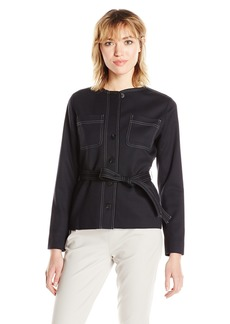 Pendleton Women's Ultra 9 Stretch Dorset Jacket Black Worsted