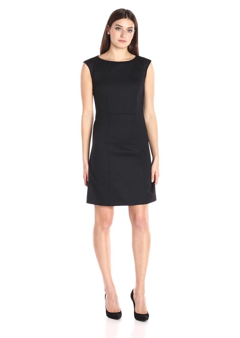 Pendleton Women's Ultra 9 Stretch Harrow Dress Black Worsted
