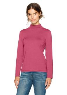 Pendleton Women's Washable Silk Mockneck Pullover Sweater  S