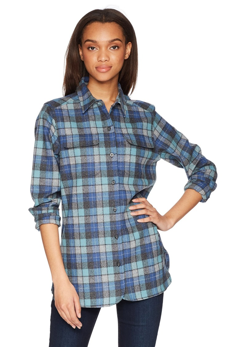 Pendleton Women's Wool Board Shirt Blue Original surf Plaid XL