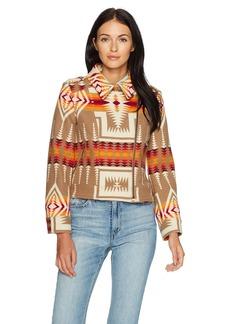 Pendleton Women's Wool Jacquard Moto Jacket  XL